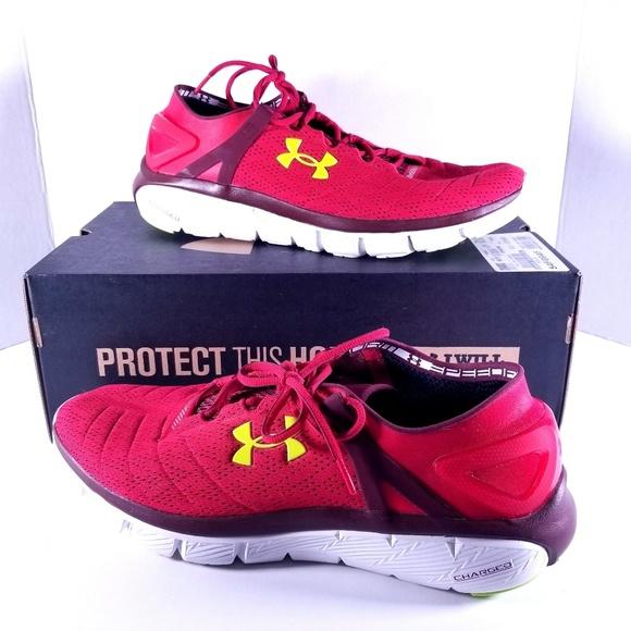 enorme verkoop kwaliteit prijs Under Armour Speedform Fortis Red Size 14
